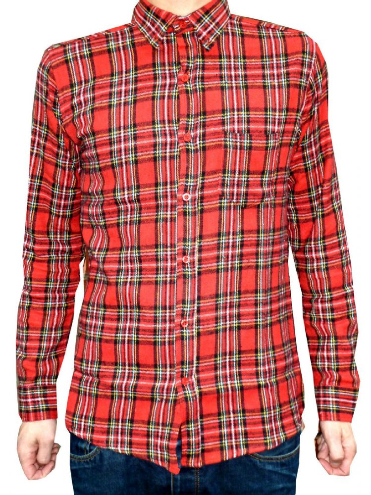 Our lightweight flannel shirt is the perfect layering piece. Wear it open over a long-sleeved henley tee or buttoned over a white t-shirt for a rugged.